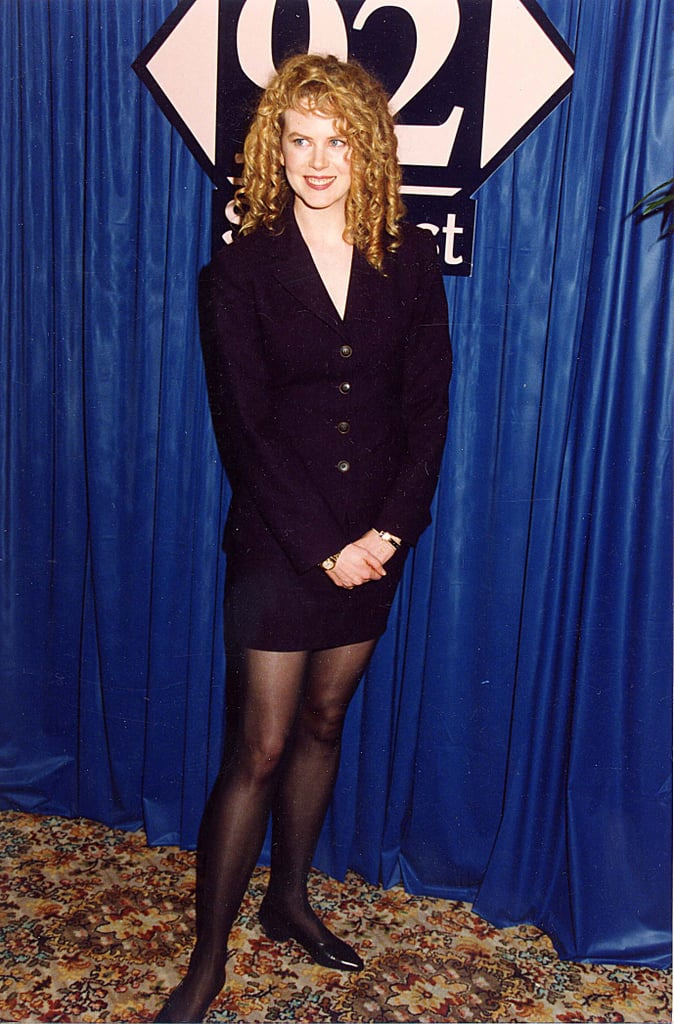 Nicole Kidman 1992 Old Red Carpet Photos Vintage