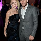 Naomi Watts and Jake Gyllenhaal hung out at the InStyle and Hollywood Foreign Press Association's party.