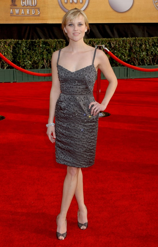 Reese Witherspoon in Olivier Theyskens For Nina Ricci at 2007 Screen Actors Guild Awards