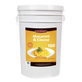 Chef's Banquet Macaroni & Cheese Storage Bucket