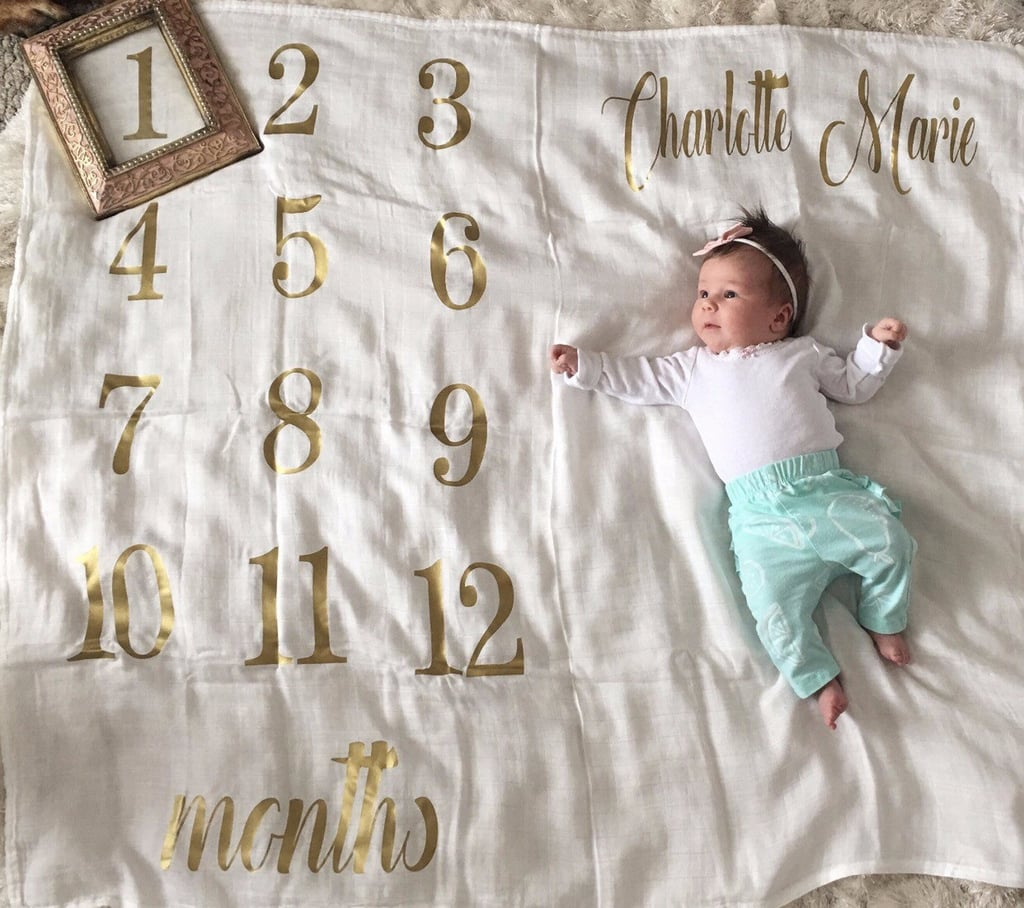 Trendy Baby Gifts : Metallic baby shower gifts popsugar moms