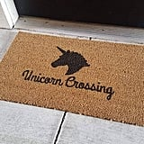 Pisces: Unicorn Doormat
