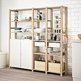 Ivar 3-Section Cabinet and Shelves