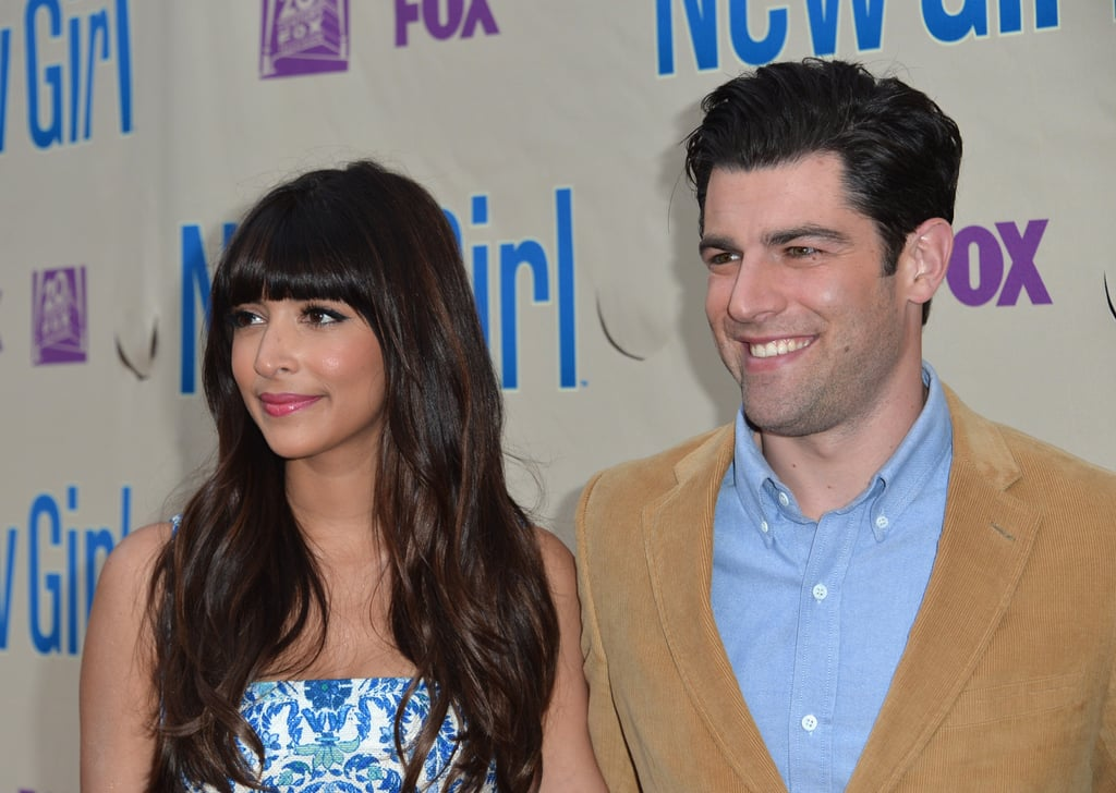 Hannah Simone and Max Greenfield linked up for a New Girl screening in LA.
