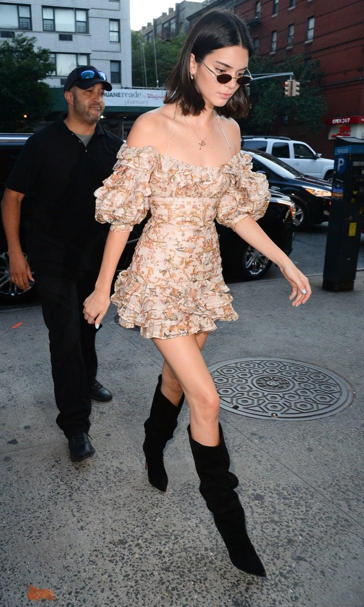 Kendall Jenner Wearing Zimmermann Dress Popsugar Fashion