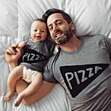 Matching Pizza Shirts Set