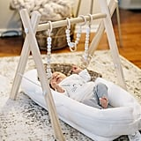 Foldable Activity Gym With Hanging Teethers
