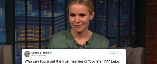 Kristen Bell Reads Donald Trump Tweets as Gossip Girl Video
