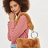 Topshop Teddy Faux Fur Shoulder Bag (£29)