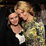 Rachel Bilson and Elizabeth Banks got together during the Art of Elysium dinner in 2011.