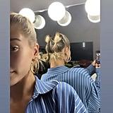 Hailey Baldwin's Labor Day Hairstyle
