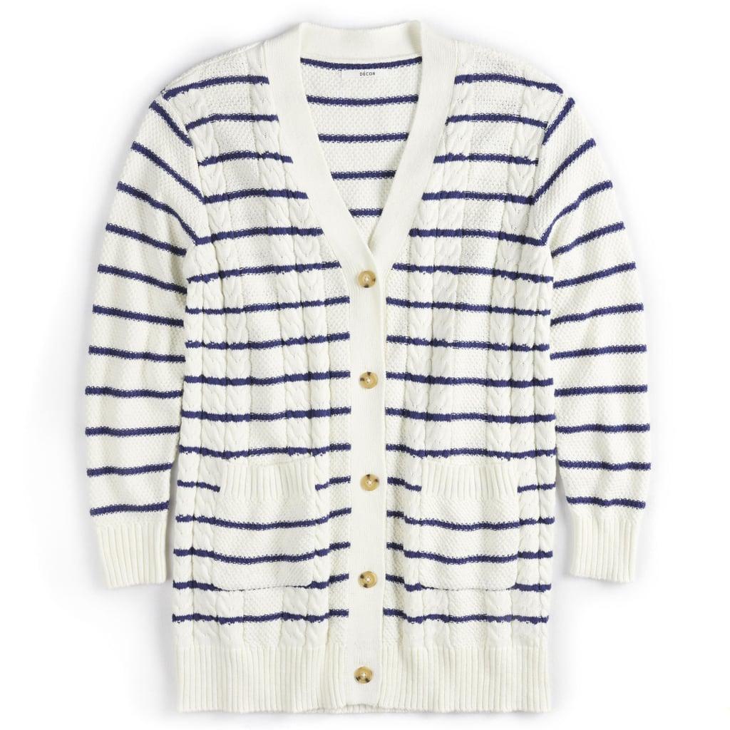 POPSUGAR Nautical Cardigan