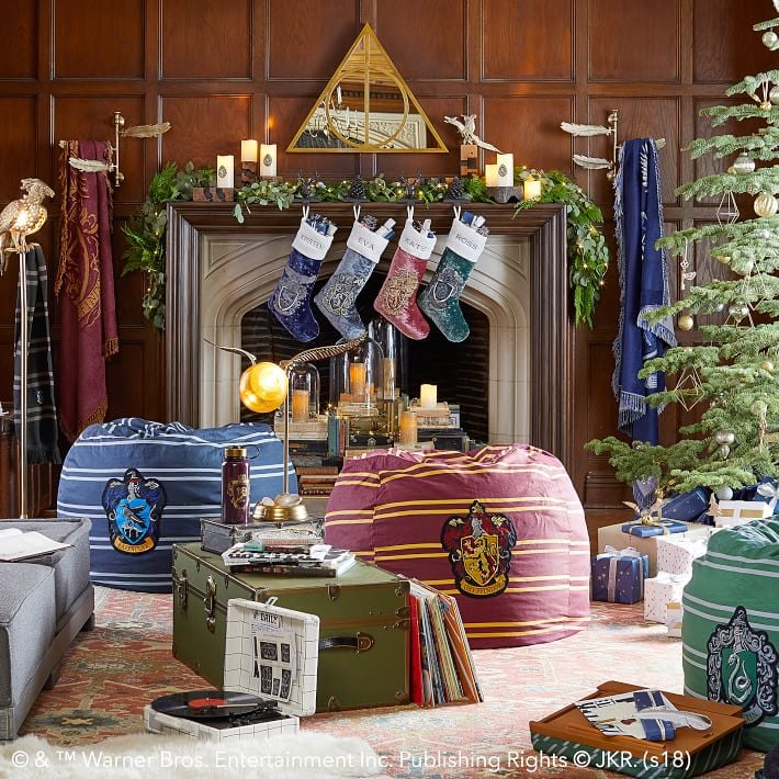 Items From the Harry Potter Collection at PBteen, Including the Holiday Stockings