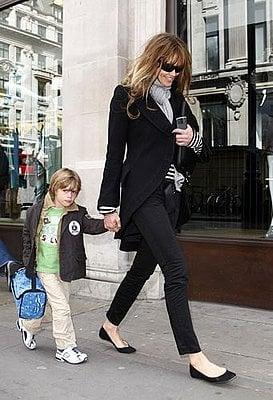 Celebrity Style: Elle Macpherson in London