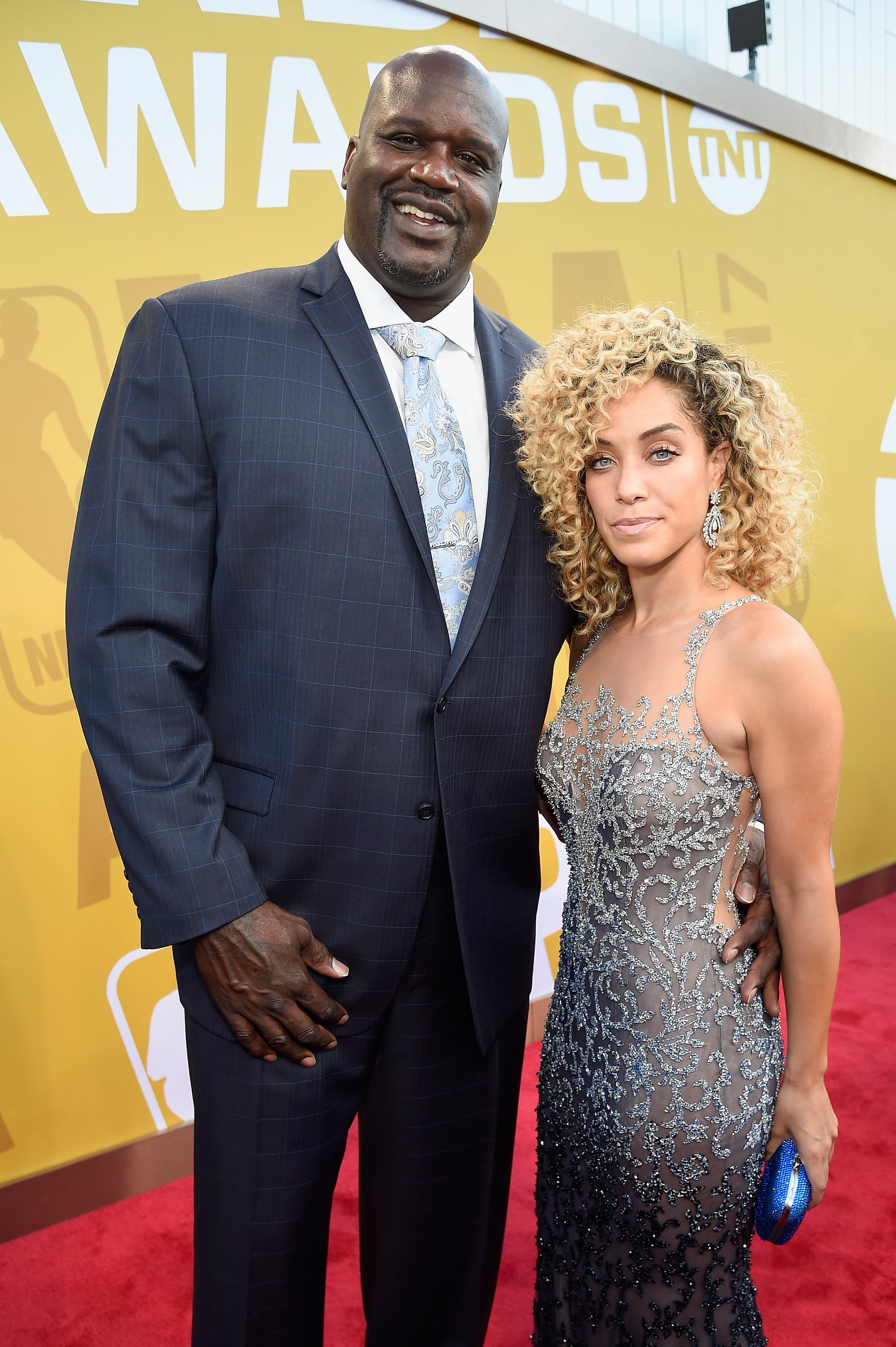 Shaquille O Neal And Laticia Rolle 55 Celebrity Couples We Can T Wait To See Walk Down The Aisle Popsugar Celebrity Photo 9 Listed аt 7 ft 1 in (2.16 m) tall аnd weighing 325 pounds (147 kg). shaquille o neal and laticia rolle 55