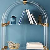 Lucite Arch Shelf