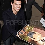 Taylor Lautner Talks Twilight, Kristen Stewart, and His New Action Role on Jimmy Kimmel