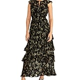Rachel Rachel Roy Issa Printed Ruffled Maxi Dress