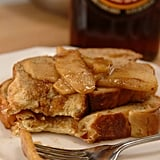 Challah French Toast With Warm Maple-Apple Compote