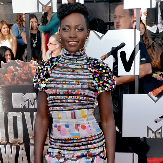 Lupita Nyong'o Dress at MTV Movie Awards 2014