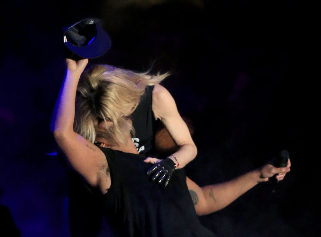 Madonna Surprises Drake With a Massive Kiss at Coachella — See the Video!