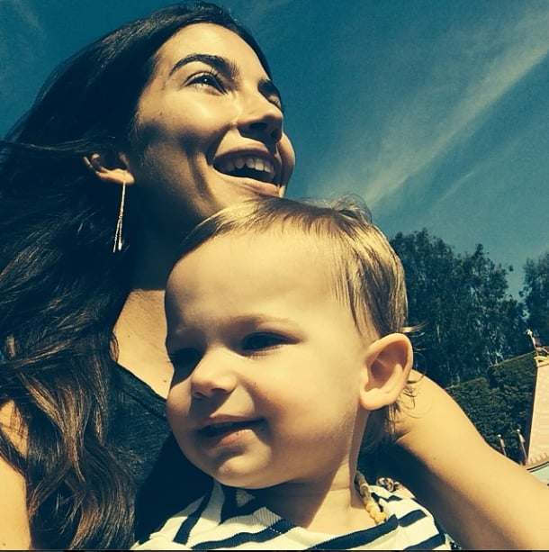 Lily Aldridge and her daughter, Dixie, had a day out in the sun together. Source: Instagram user lilyaldridge