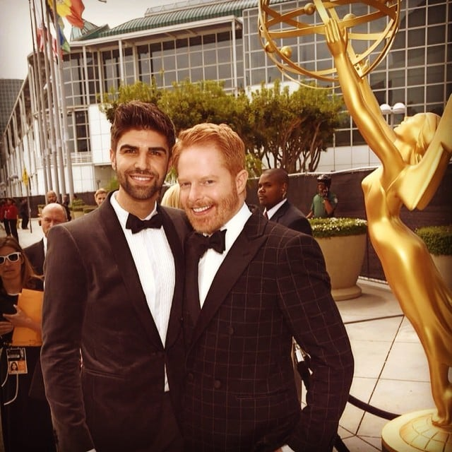 Jesse Tyler Ferguson arrived to the Emmys with his husband, Justin Mikita.