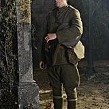 We salute the handsome Ezra looking sexy as a soldier. Photos courtesy of ABC Family
