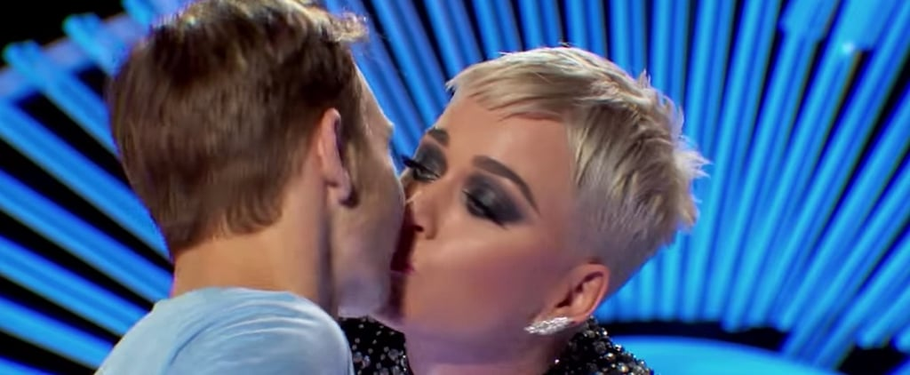 Katy Perry Kisses Contestant on American Idol