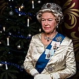 This seems like a good thing to leave you with: the Wax Queen Elizabeth II, who just looks on with sheer disapproval and confusion. Happy holidays, everyone! Good luck!