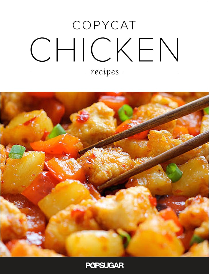 Restaurant Copycat Chicken Recipes