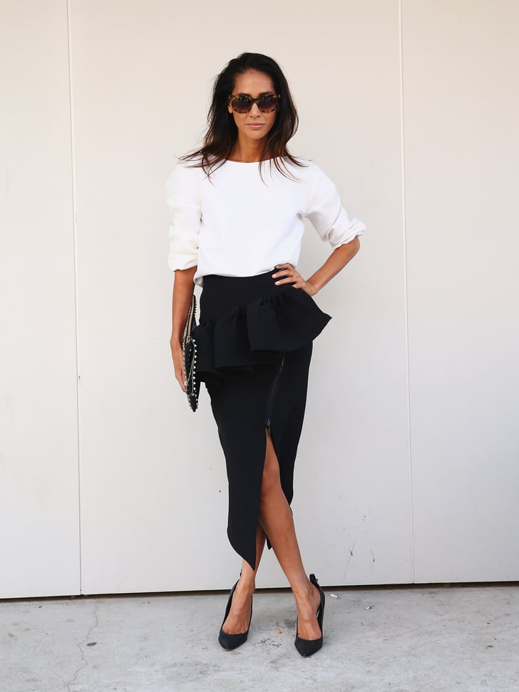 Street Style At Sydney Fashion Week Sydney Fashion Week Street Style 2014 Popsugar Fashion