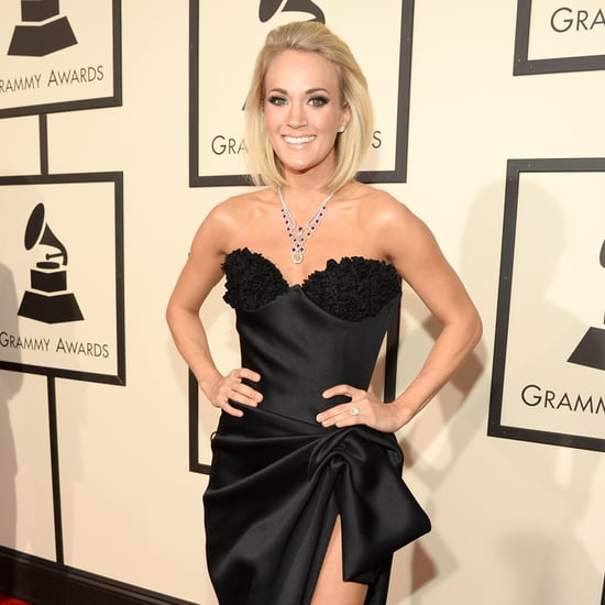 Carrie Underwood at the Grammys 2016