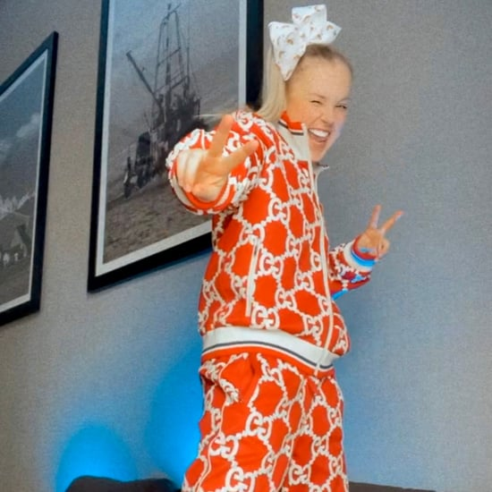 JoJo Siwa Wears a Gucci Tracksuit For the GLAAD Awards 2021