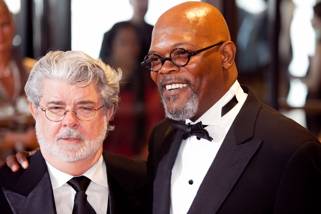 Samuel L. Jackson and George Lucas