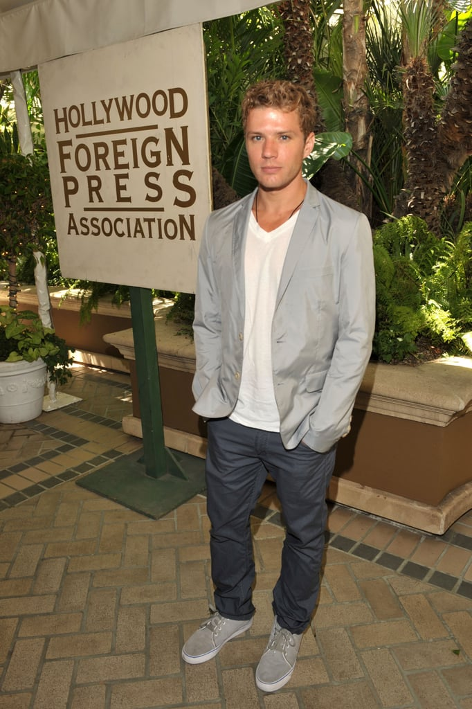 Ryan Phillippe, Nicole Kidman and Eva Longoria at the Hollywood Foreign Press Association's annual grant luncheon