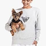 Staud Custom Sweatshirt in Gray