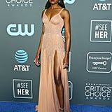 KiKi Layne at the 2019 Critics' Choice Awards