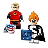 Mr. Incredible and Syndrome Disney Series Lego Minifigures
