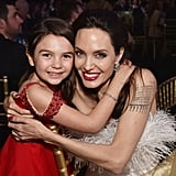 Pictured: Brooklynn Prince and Angelina Jolie