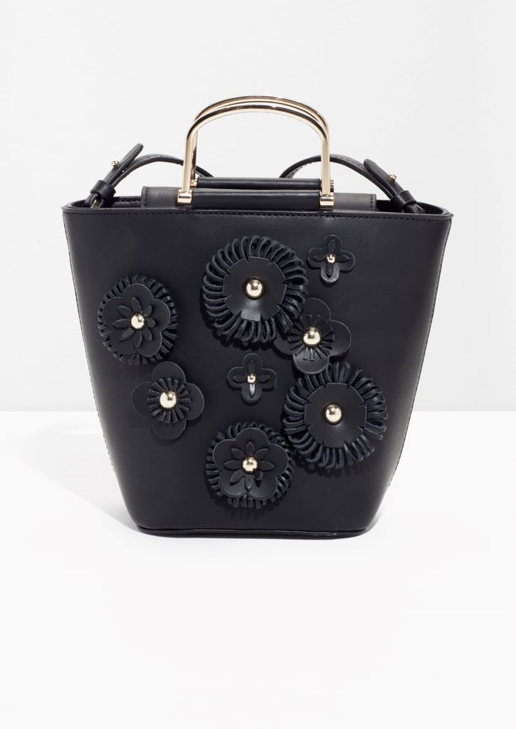Other Stories Flower Leather Bucket Bag (£95)