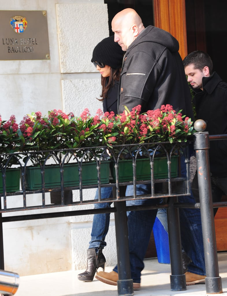 Pictures of New US X Factor Judge Cheryl Cole in Venice