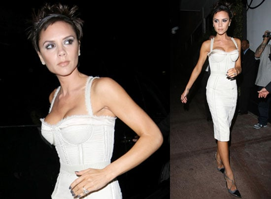 Victoria Becklam At Beso