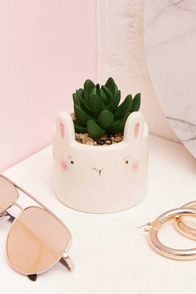 Bunny Face Faux Succulent
