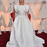 Lady Gaga at the 2015 Academy Awards