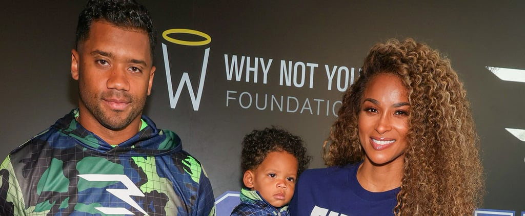 Ciara and Her Kids Attend Russell Wilson's Clothing Launch