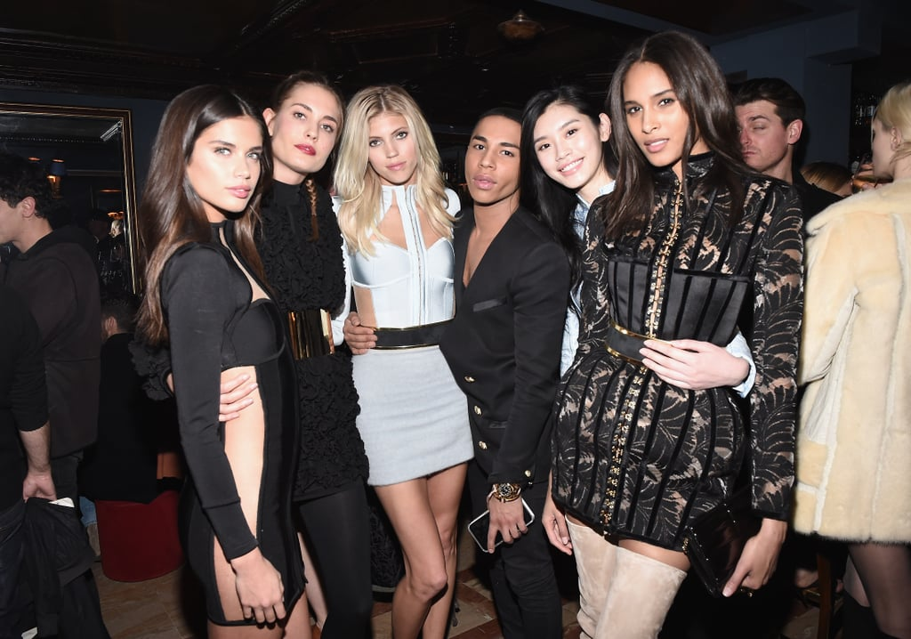 Step Inside the Most Stylish Party of PFW With Gigi, Kendall, and the Balmain Army
