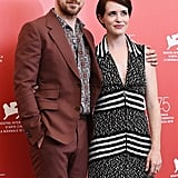 Pictured: Ryan Gosling and Claire Foy