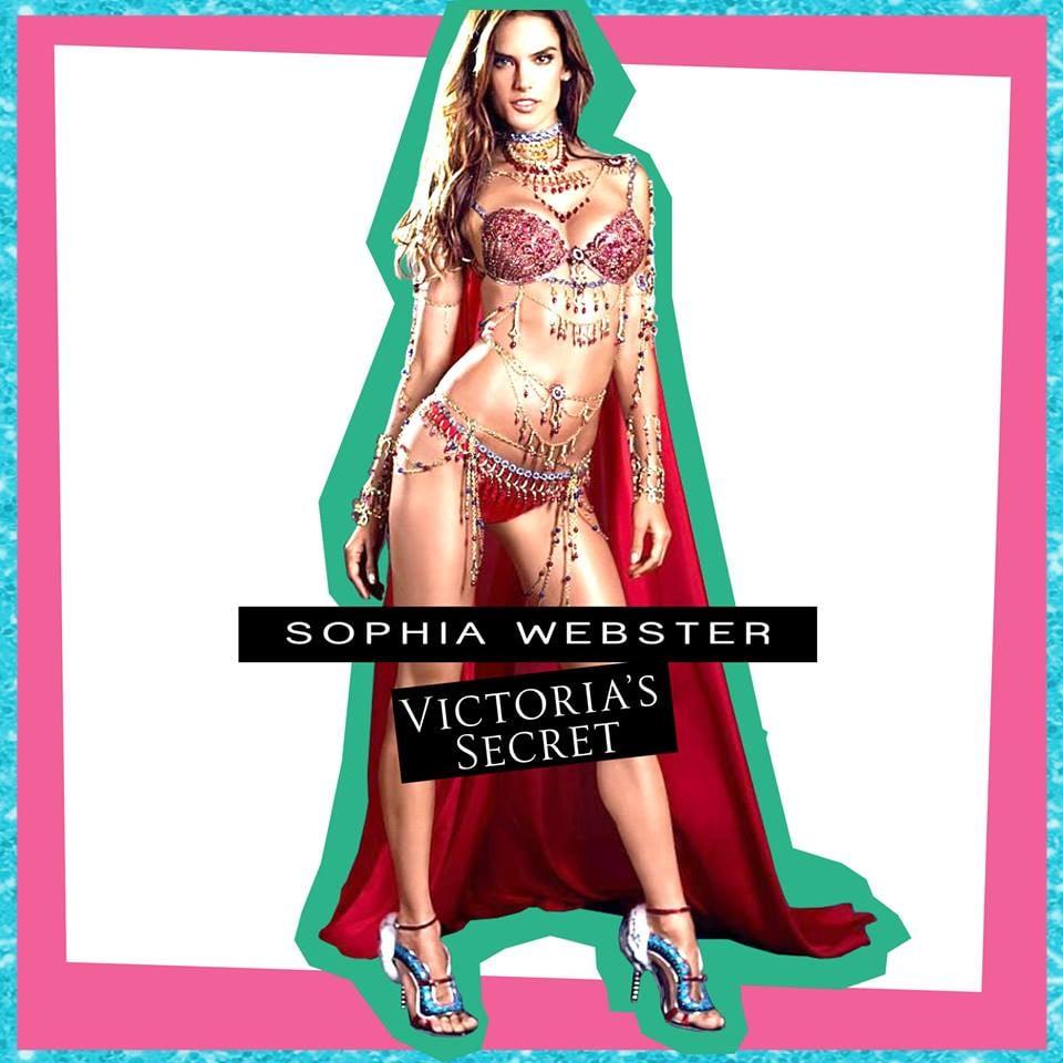 Sophia Webster Shoes For Victoria's Secret Fashion Show 2014