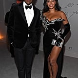 They color-coordinated outfits for a glamorous night out at Diddy's 50th birthday party in December 2019.